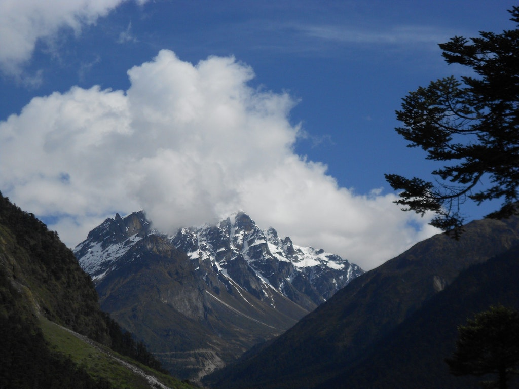 Katao Mountain peak in Zero Point