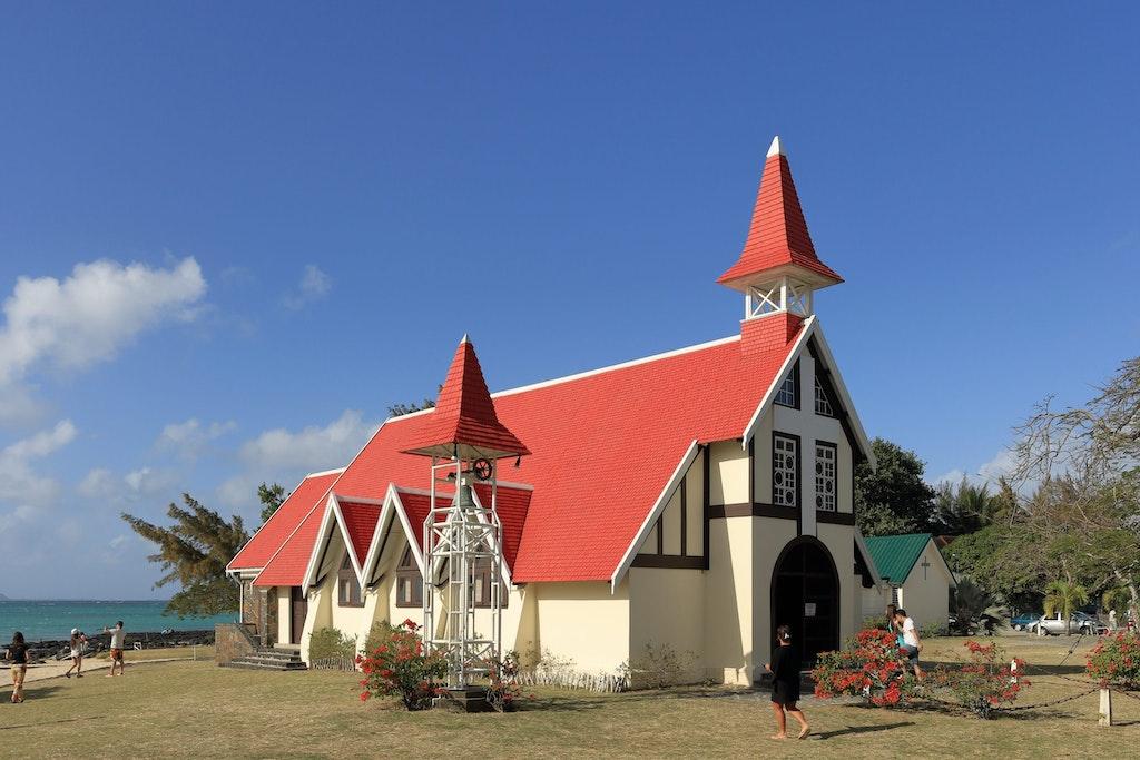 Notre Dame Auxiliatrice (Quatre Bornes in Mauritius)