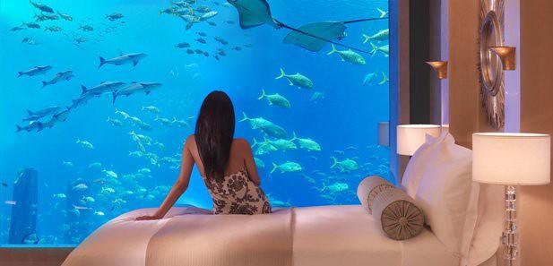 Underwater Signature Suite. Atlantis In Dubai
