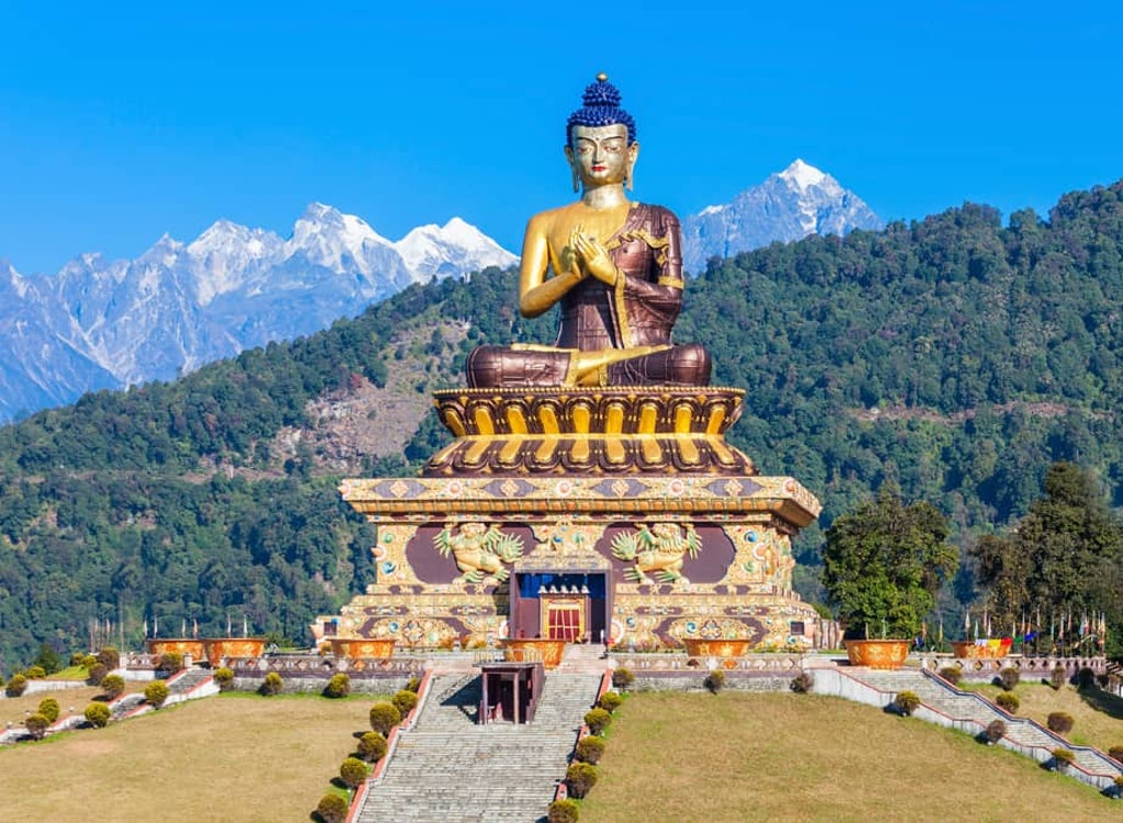 Ravangla Buddha Park, one of the best places to visit in Sikkim