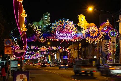 Diwali celebrations in Singapore