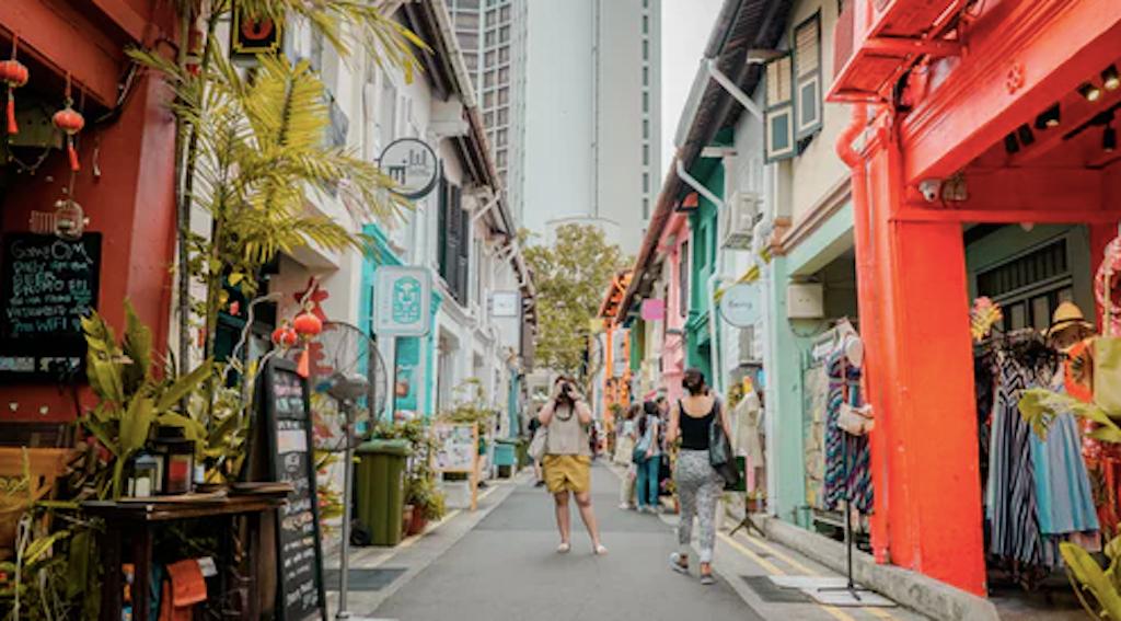 Shop till you drop in Singapore