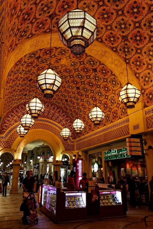 Shopping in IBN Battuta Mall in Dubai