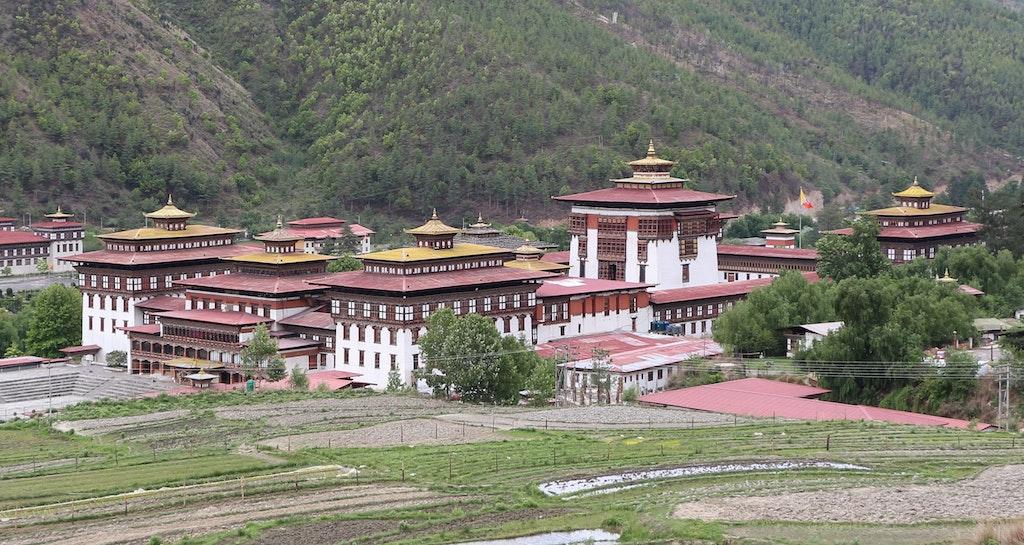Tashichho Dzong in Thimpu