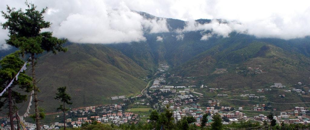The beautiful Thimpu