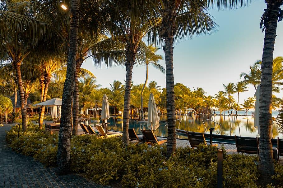 Trou aux biches beach view resort