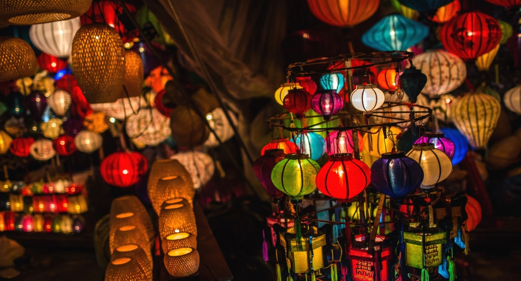 Lanters at Mid Autumn Festival