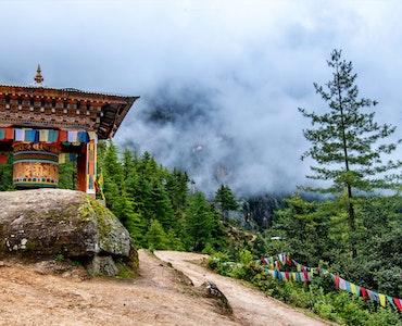 Hill Station in Bhutan