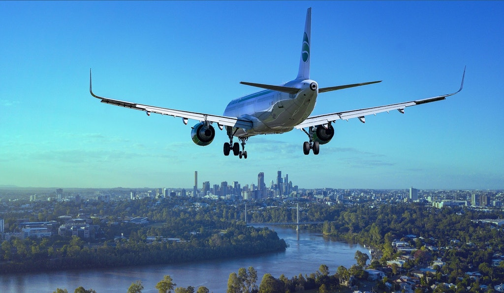 Landing flight