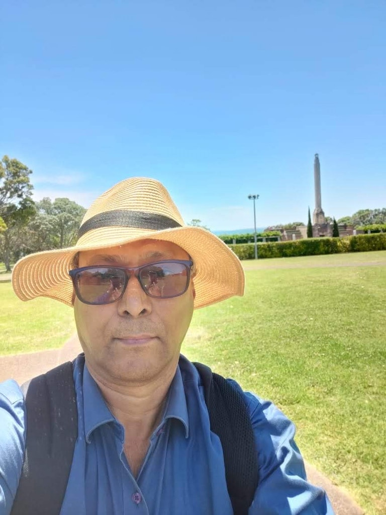 Selfie in the museum on my vacation to new zealand