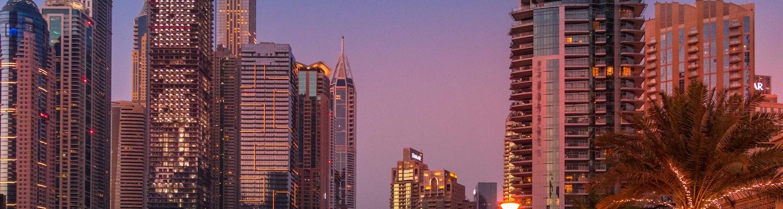 Dubai in night