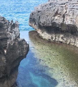 Top view of Angel's Billobng
