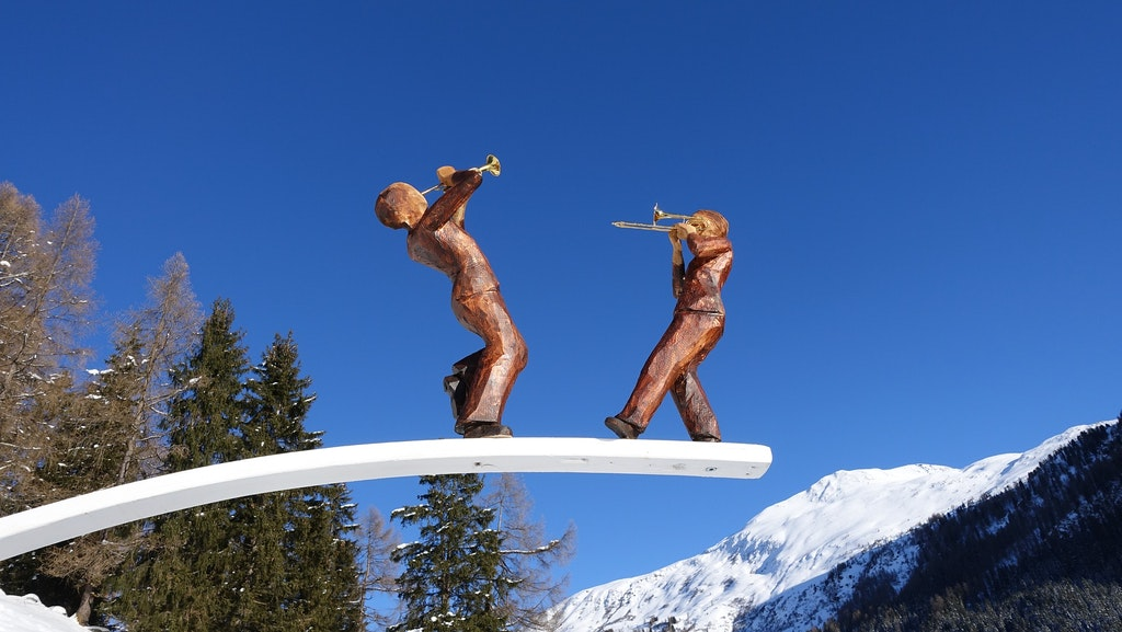 Davos art, Places to Visit In Switzerland in March