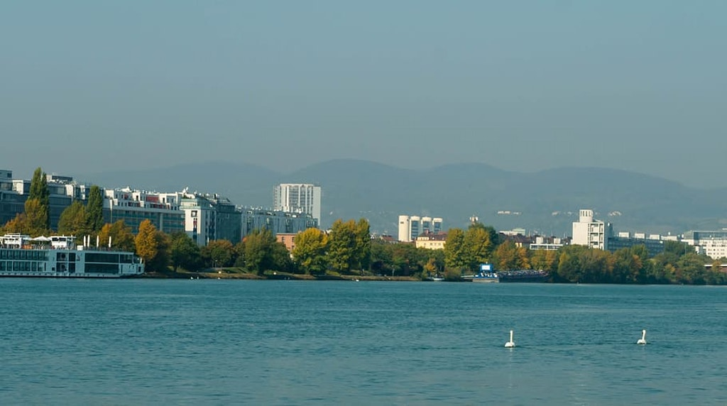 a beach in the city of vienna