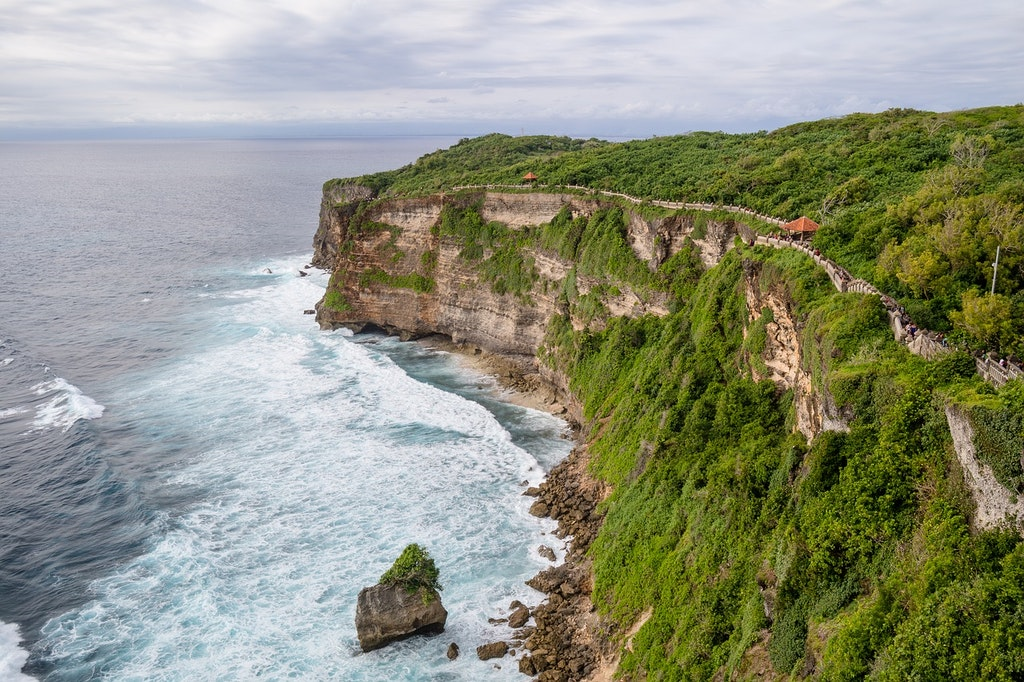 The view of Bali