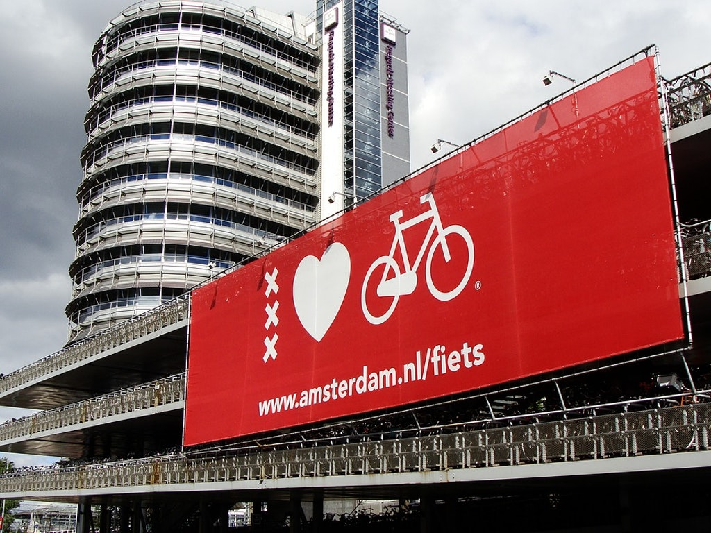 Amsterdam Cycle signs