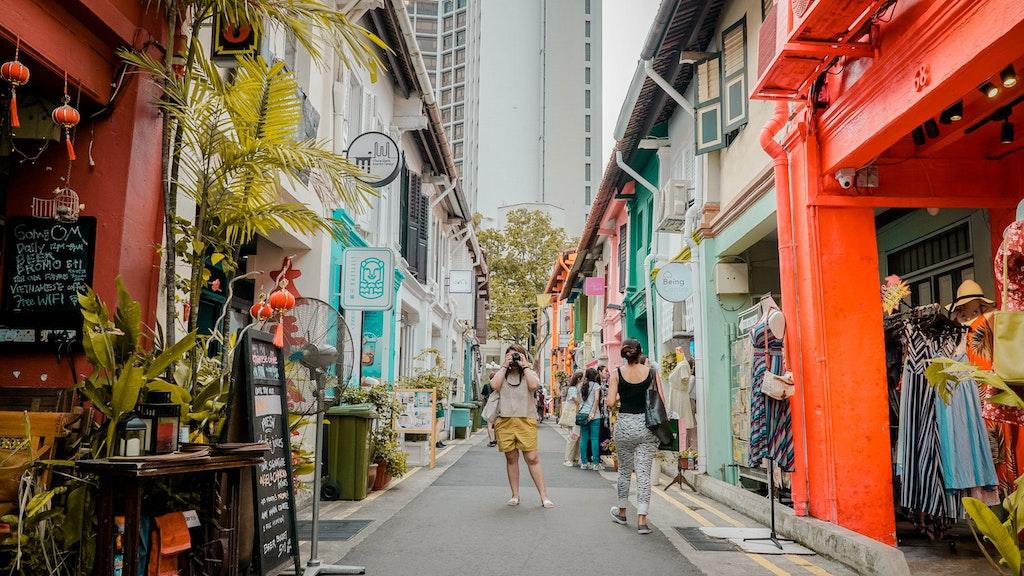 The Colourful Haji Lane in Singapore