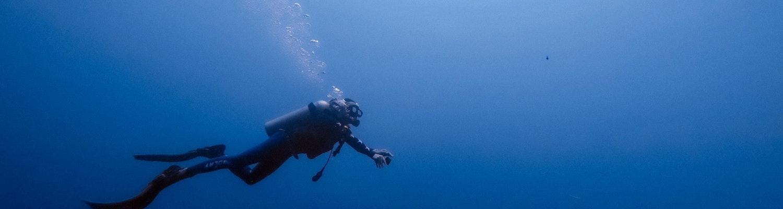 Scuba diving in Maldives in January