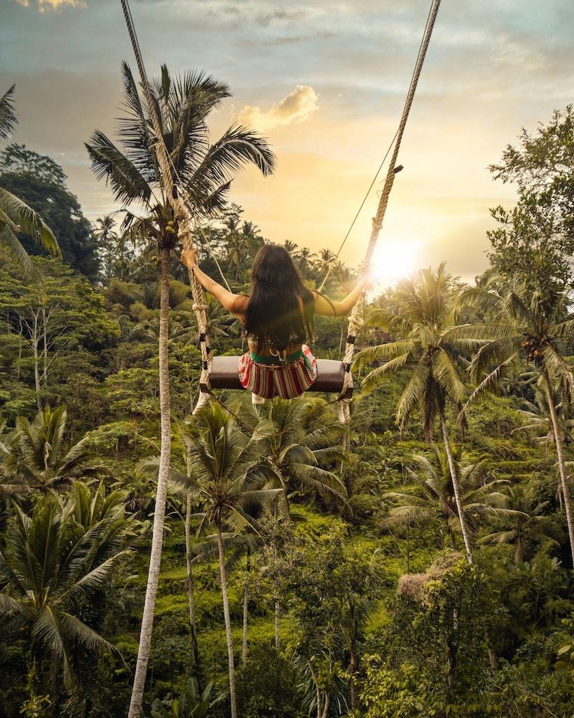 Swing at Tegallalang