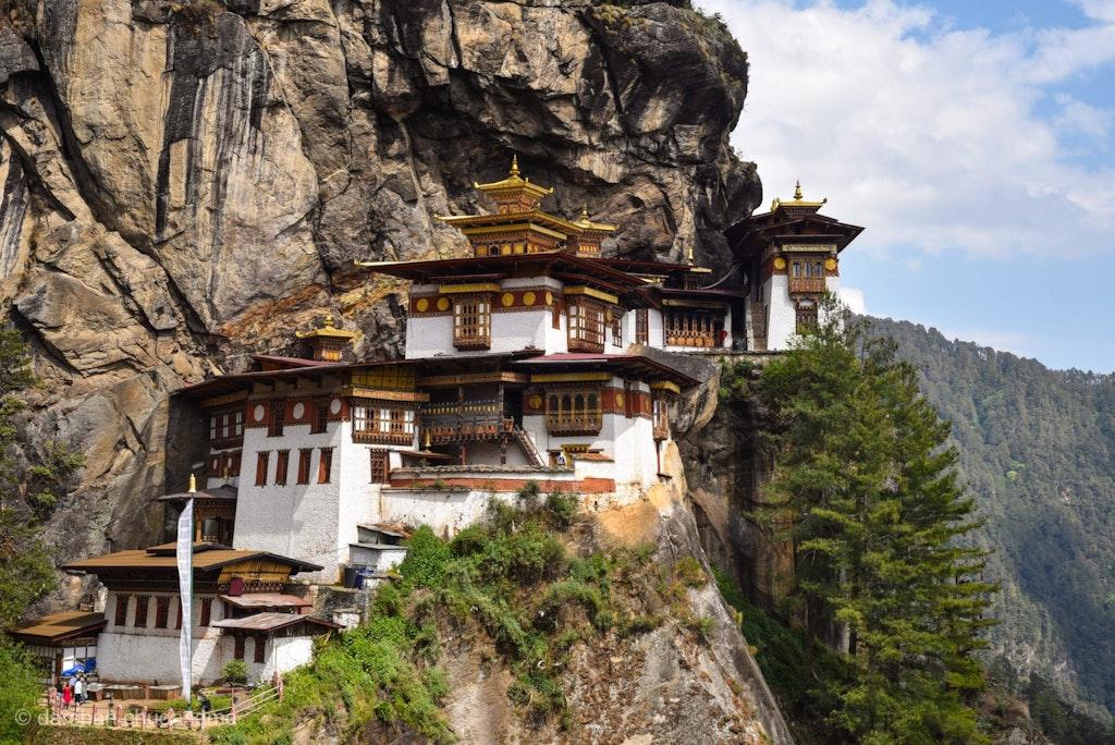 Beautiful sight of Taktsang Lhakhang, Paro