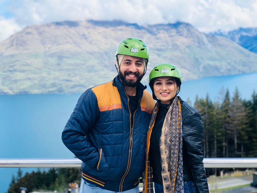 With my wife in Queenstown