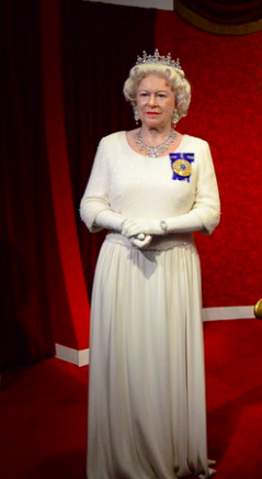 Queen Elizabeth at Madame Tussauds