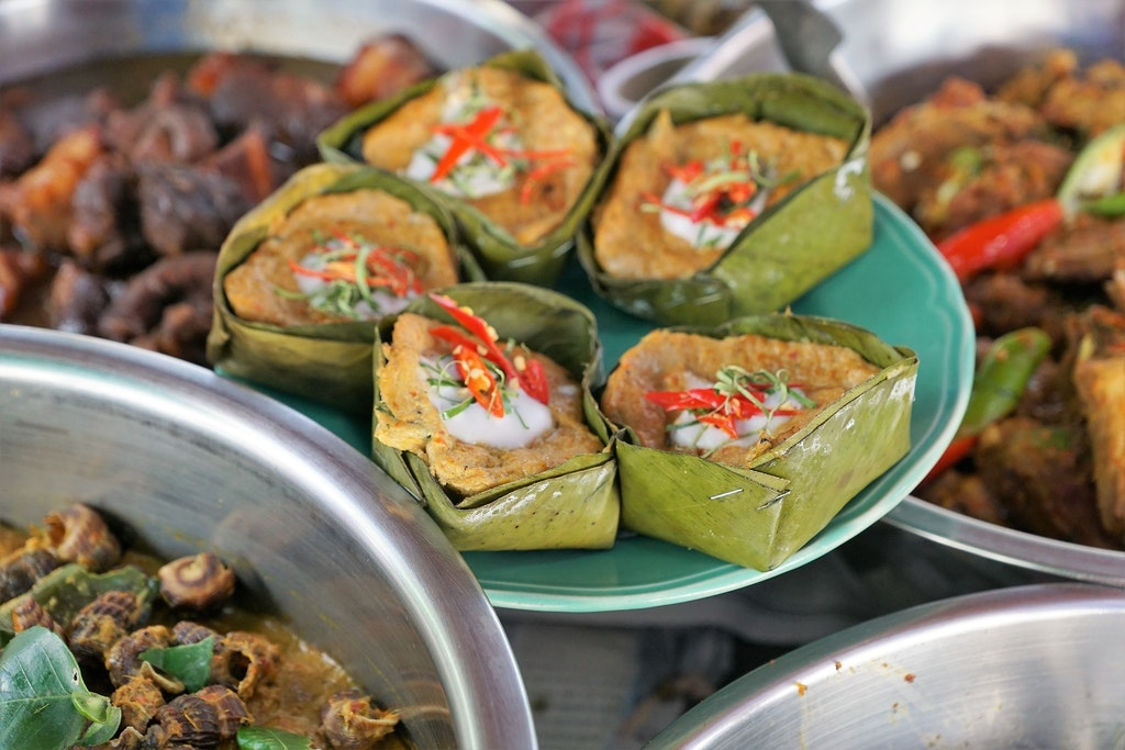 cambodia street food fish