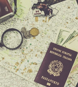 Travel accesories for tourists