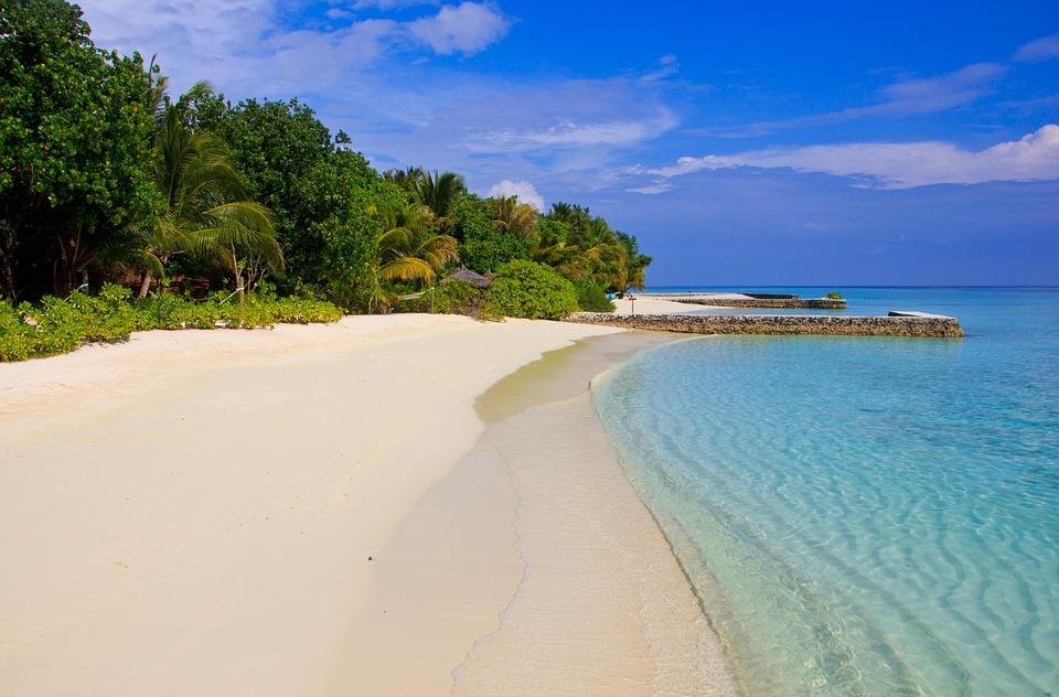 View of Maldives Island