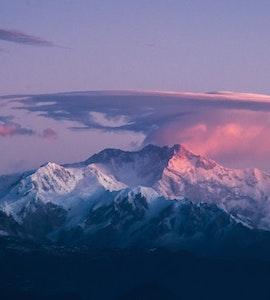 Kanchenjunga view