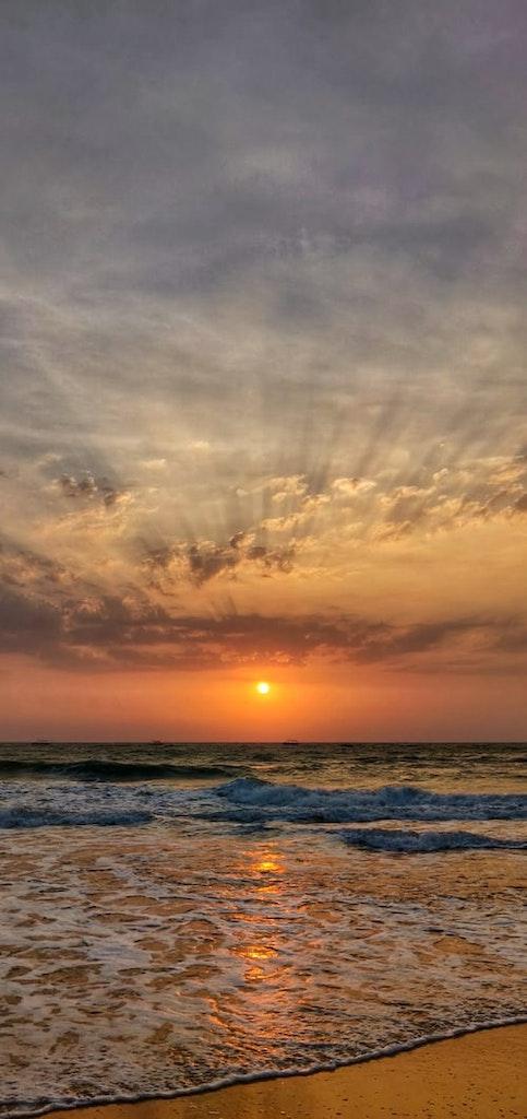 Baga beach in Goa, one of the best honeymoon destinations in India