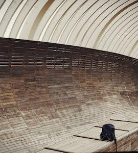 Inside the Henderson wave bridge