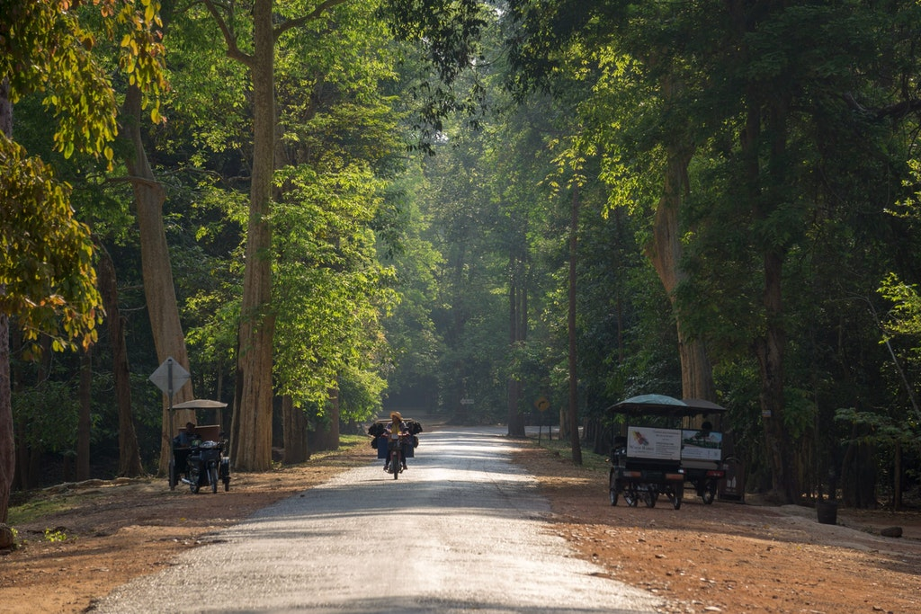 pleasant weather in cambodia