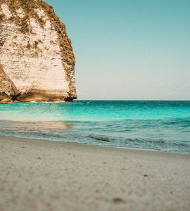 Kelingking Beach in Nusa Penida