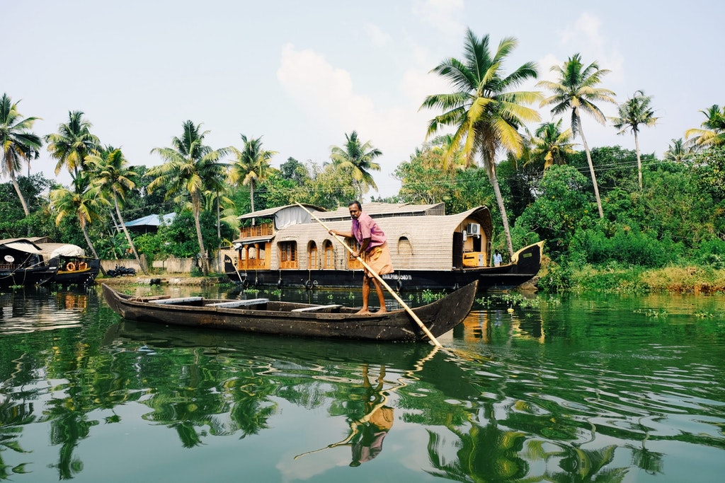 Alleppey, one of the top places in Kerala