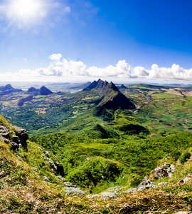 Le Pouce In Mauritius