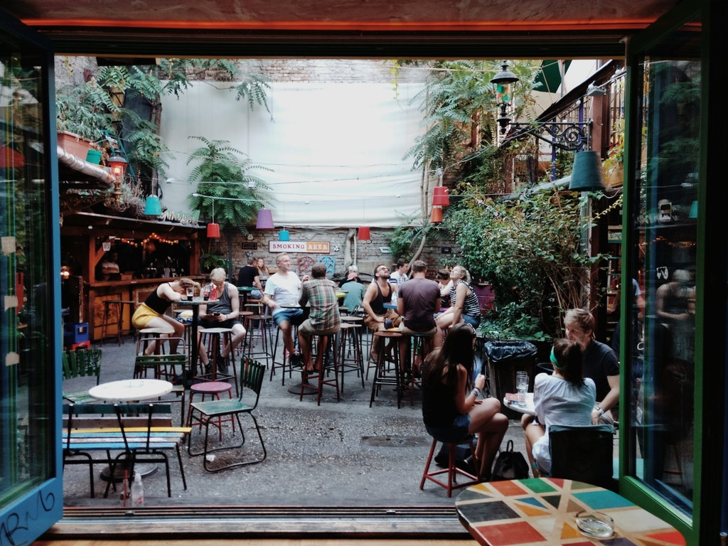 Szimpla Kert, one of the top things to do in Budapest