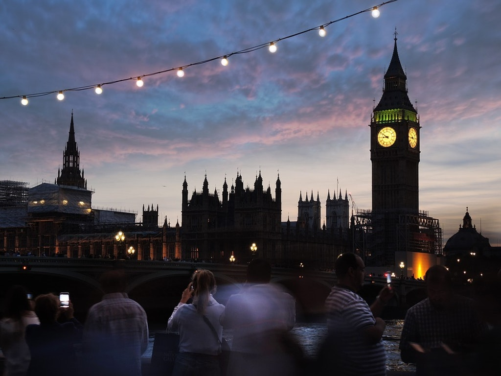 Scenic view of big ben, london