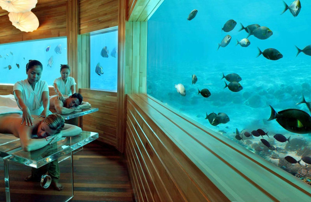 Underwater Spa experience at Maldives