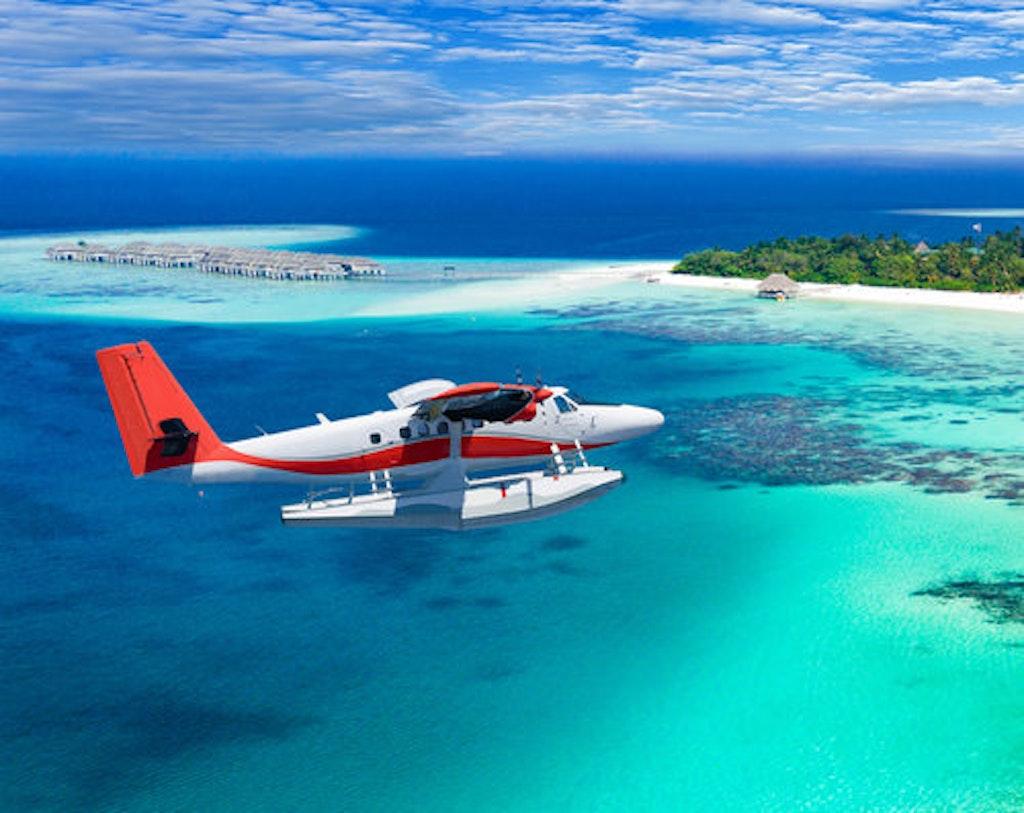 Seaplane excursions in Maldives