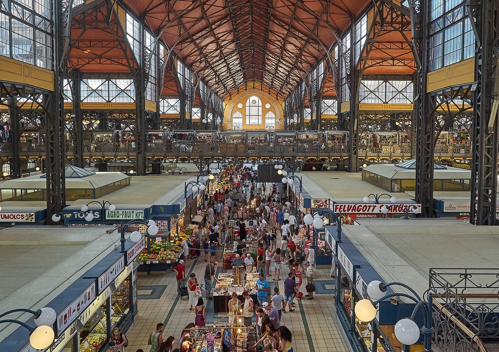 Central Market Hall in Budapest