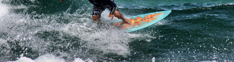 Surfing in Maldives in June