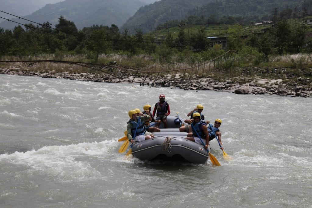 rafting in Nameri National Park