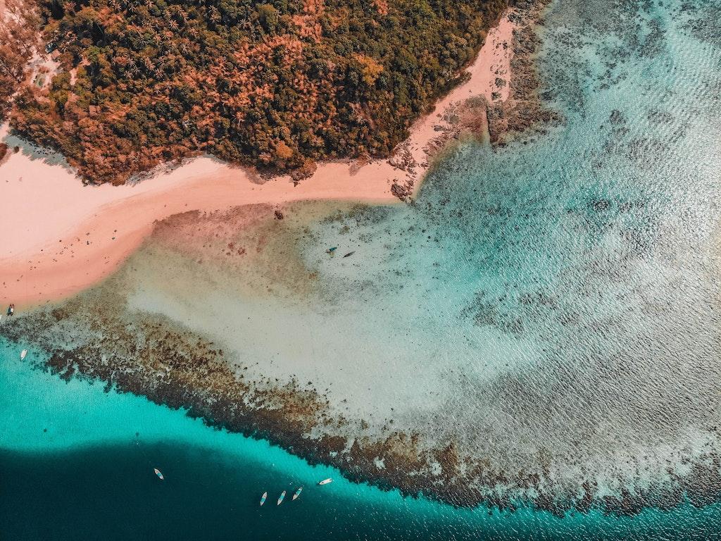 Banboo island in Andaman