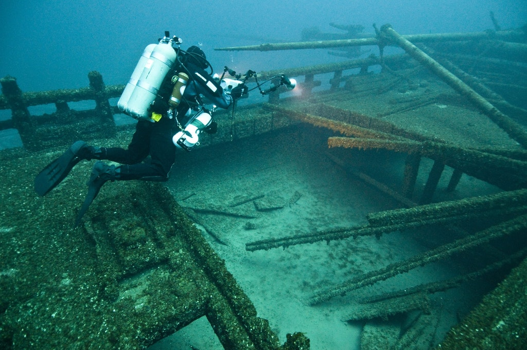 """The wreck of the """"Madi-Ge"""""""