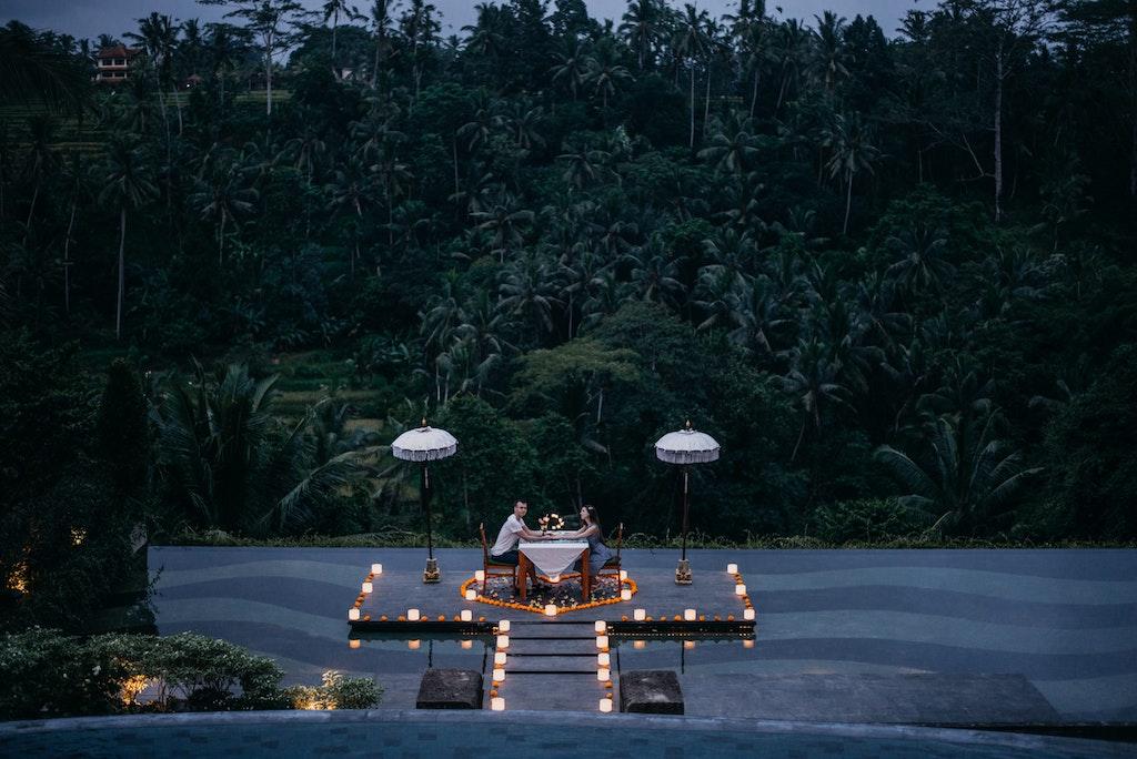 Romantic getaways in Bali