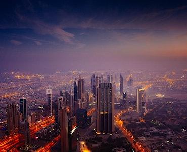 Dubai during Sunrise