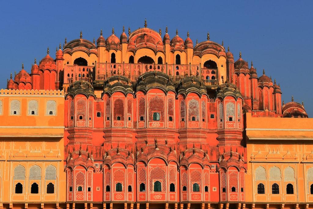 Pink city of Jaipur
