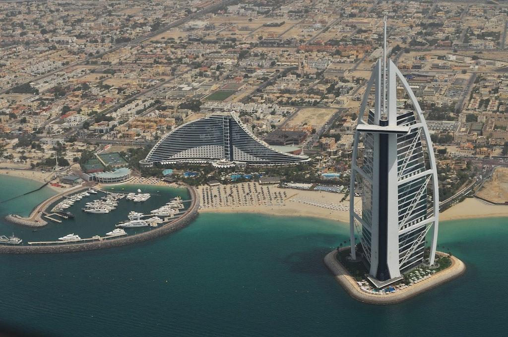 Dubai with the Burj Al Dubai