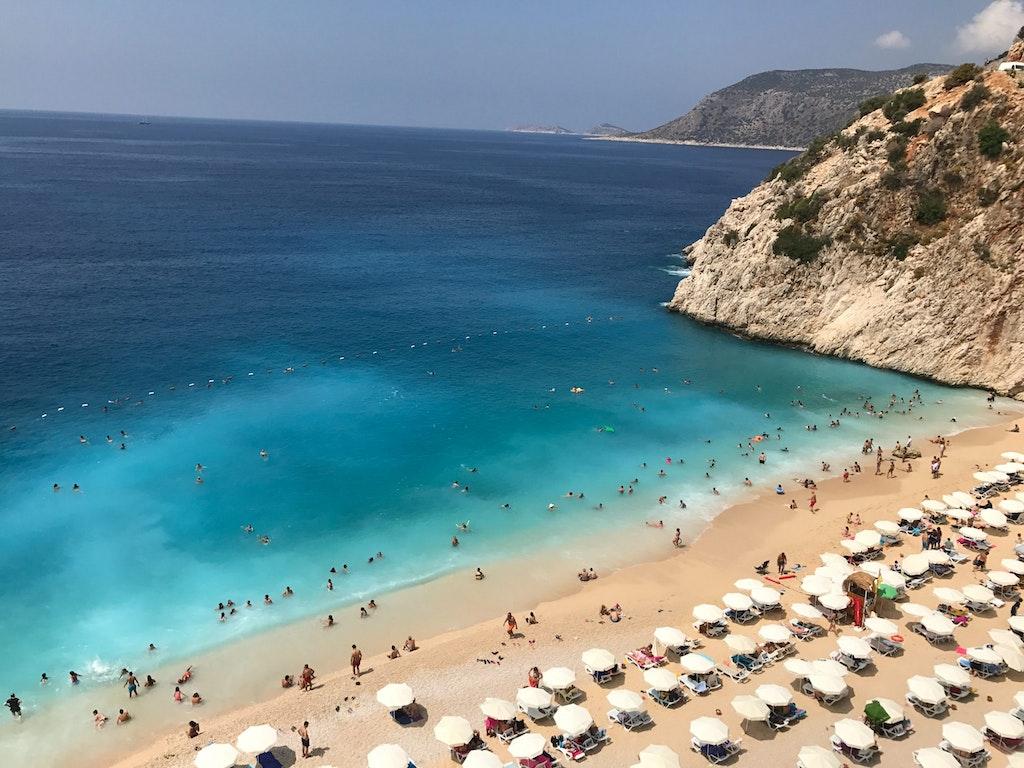 beach in Turkey